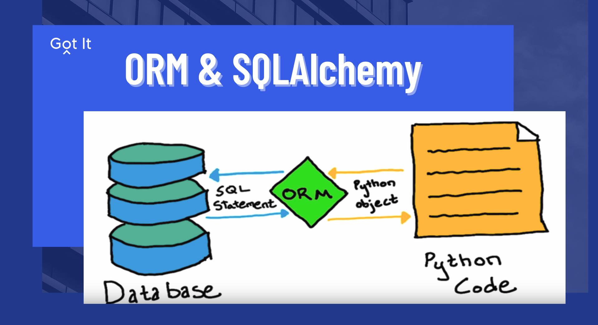 ORM và SQLAlchemy — 'chiếc đũa thần' trong quản trị cơ sở dữ liệu