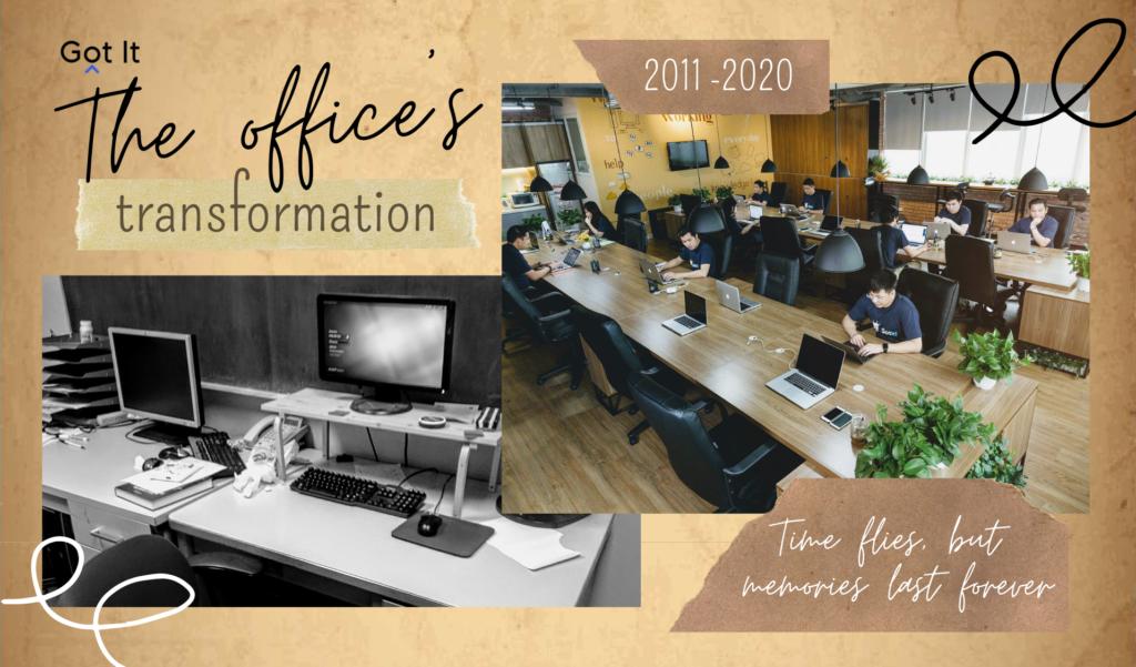 Office của Got It đã thay đổi thế nào sau 9 năm?