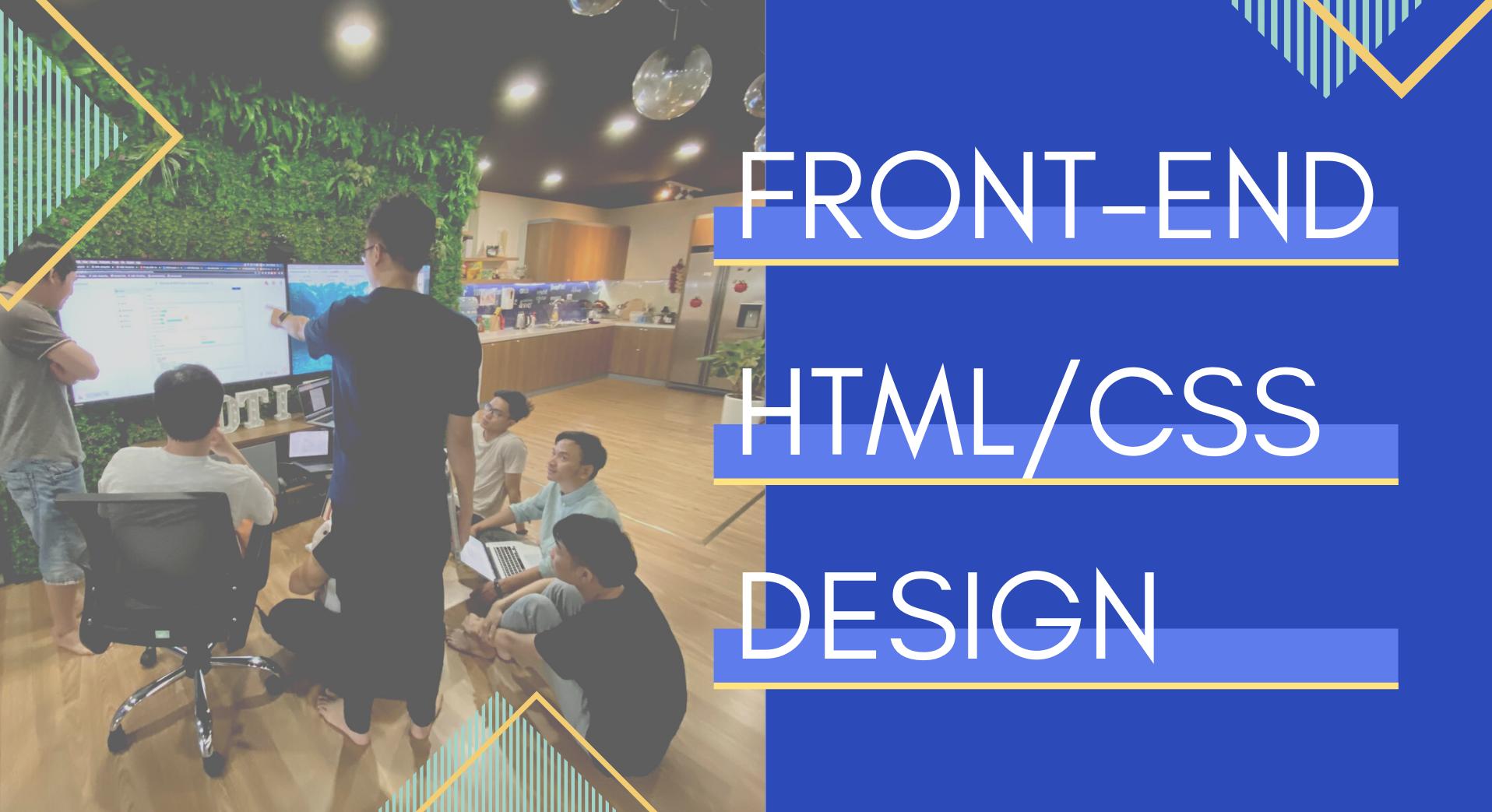 Sự kết hợp giữa Front-end, HTML/CSS và Design: Bí kíp cho một UI đẹp, thân thiện
